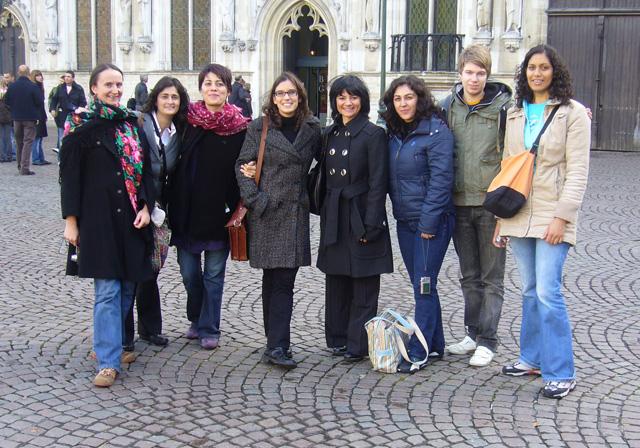 Equipo de formación de formadores/as parrticipantes en EUDap Faculty.