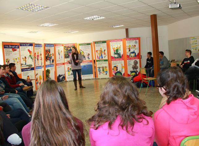 Charla realizada en Colegio Agustinos de Alicante