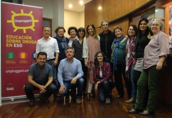 La foto corresponde al seminario sobre formación celebrado en Bilbao en octubre de 2015.